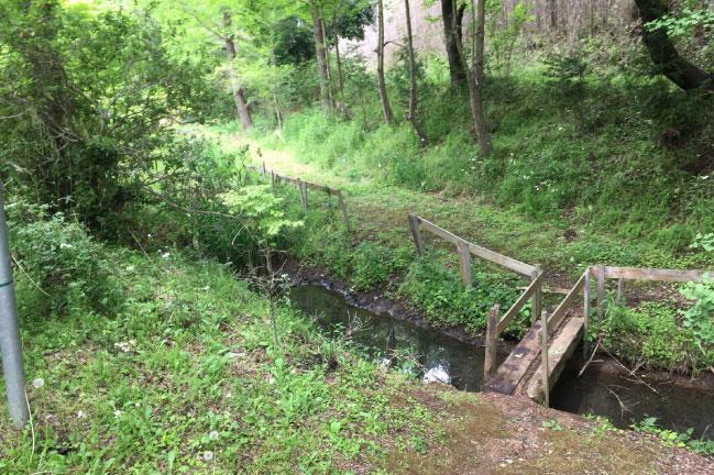 有野実苑キャンプ 橋