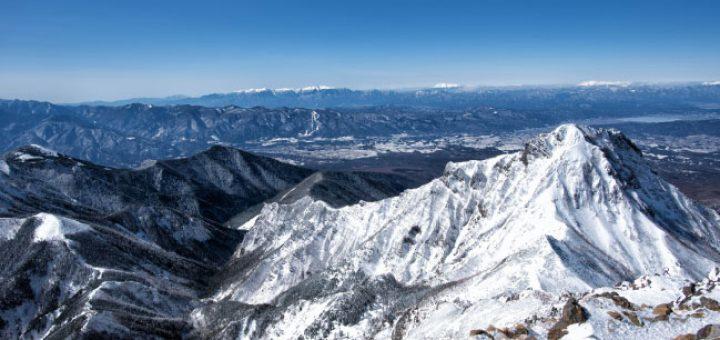 冬山の写真