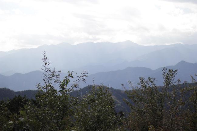 高尾山山頂からの風景