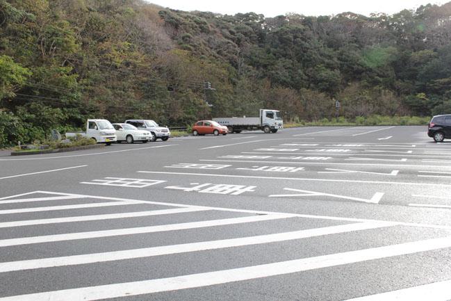 鋸山東口駐車場