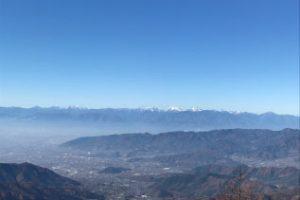 大菩薩嶺の稜線からの風景