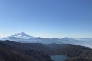 大菩薩嶺からの富士山