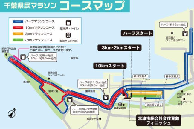 41回千葉県民マラソンコース