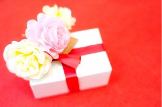 プレゼント箱の写真