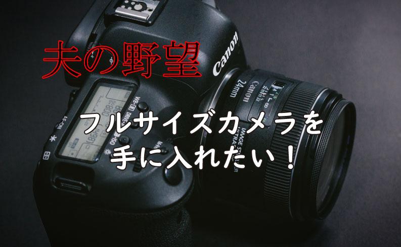 フルサイズカメラの話TOP画像