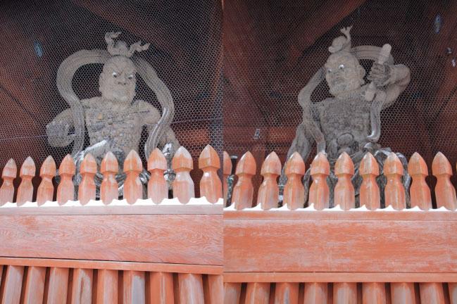 高野山 大門の仁王像