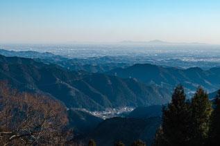 東京御岳山からの風景