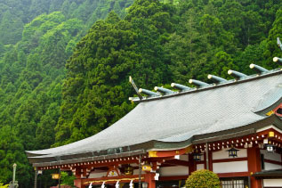 丹沢の大山 阿夫利神社