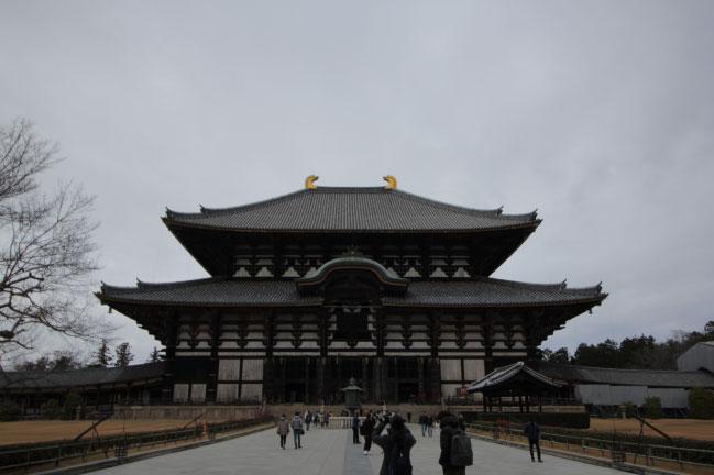 奈良東大寺 広角レンズ撮影