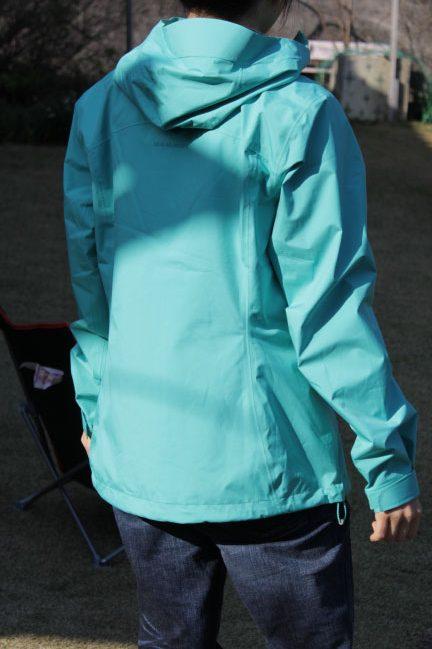マムートのコンビーツアーHSホーデッドジャケット