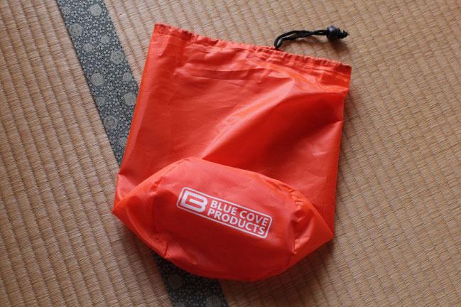 インフレータブルスリーピングマットの収納袋