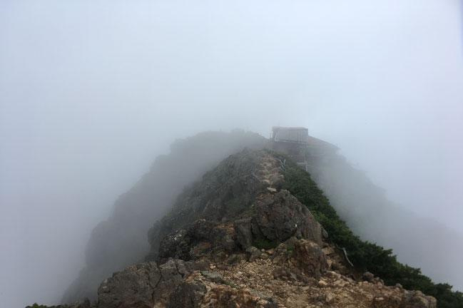 赤岳山頂からの写真