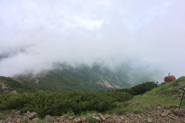 八ヶ岳 赤岳の登山道