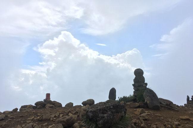 八ヶ岳 阿弥陀岳の山頂