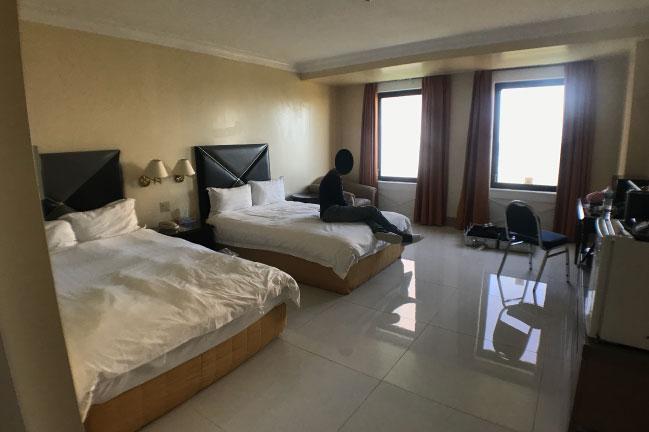 ロイヤルオーキッドホテルグアムの部屋