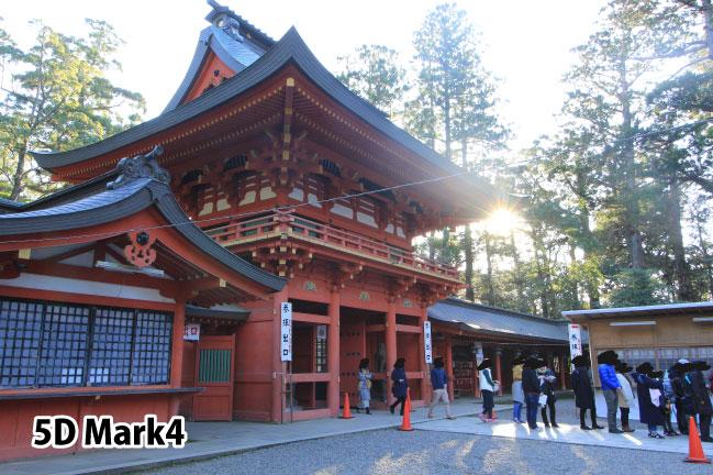 キャノンEOS5D Mark4で撮影した香取神宮
