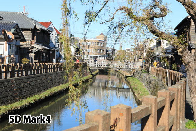 キャノンEOS5D Mark4で撮影した千葉県の水郷佐原