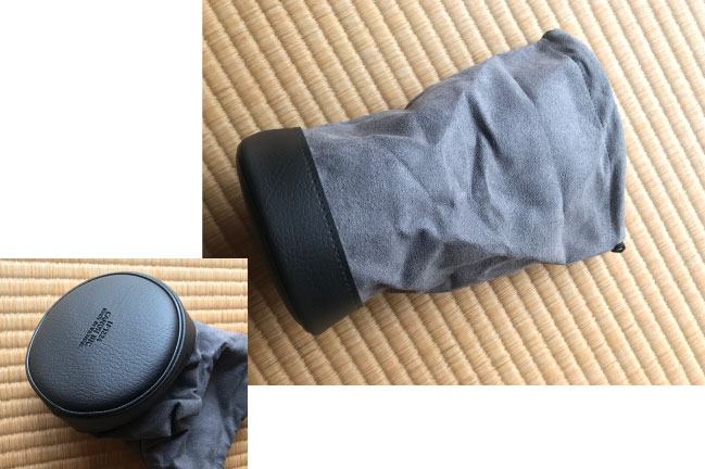 キャノンEF70-200mmF4l2USMレンズ付属の収納袋