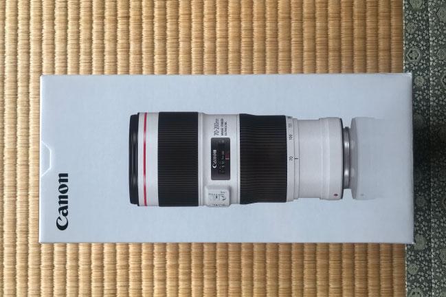 キャノンEF70-200mmF4l2USMレンズ新品