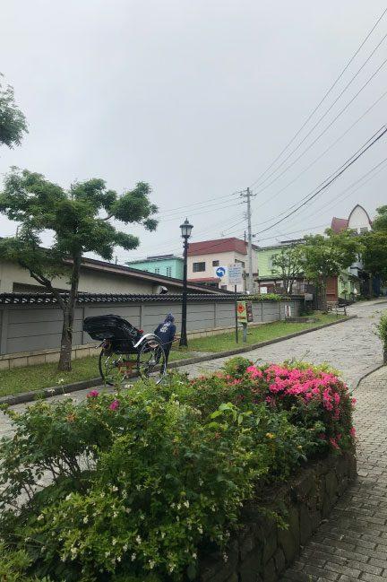 函館えびす屋と大三坂