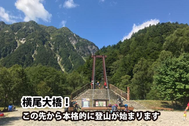 2020年9月の横尾大橋