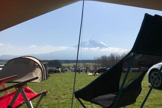 ふもとっぱらキャンプ場Cサイト