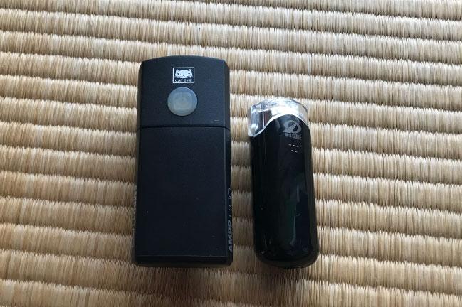 CATEYEのAMPP110の大きさ比較