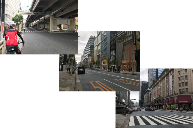 2021年9月湾イチ。銀座~日本橋